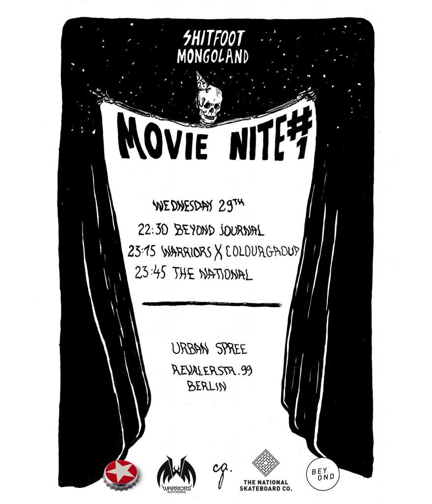 Shitfoot's Movie Nite #1 (29/06)