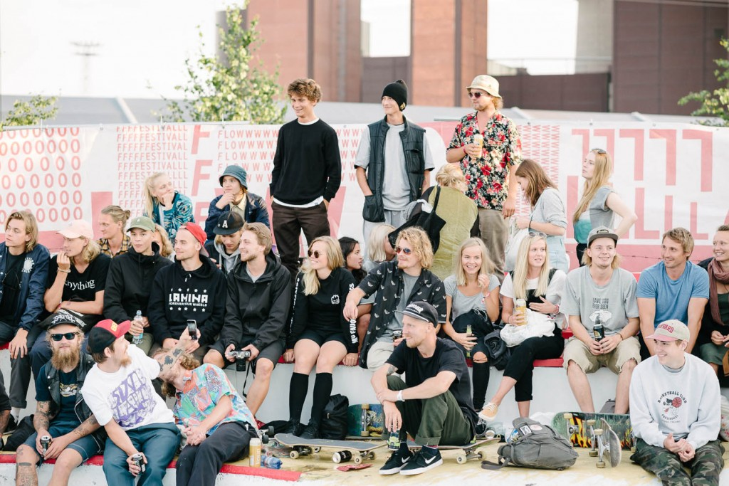How often do you get as many girls as boys at a skate event?