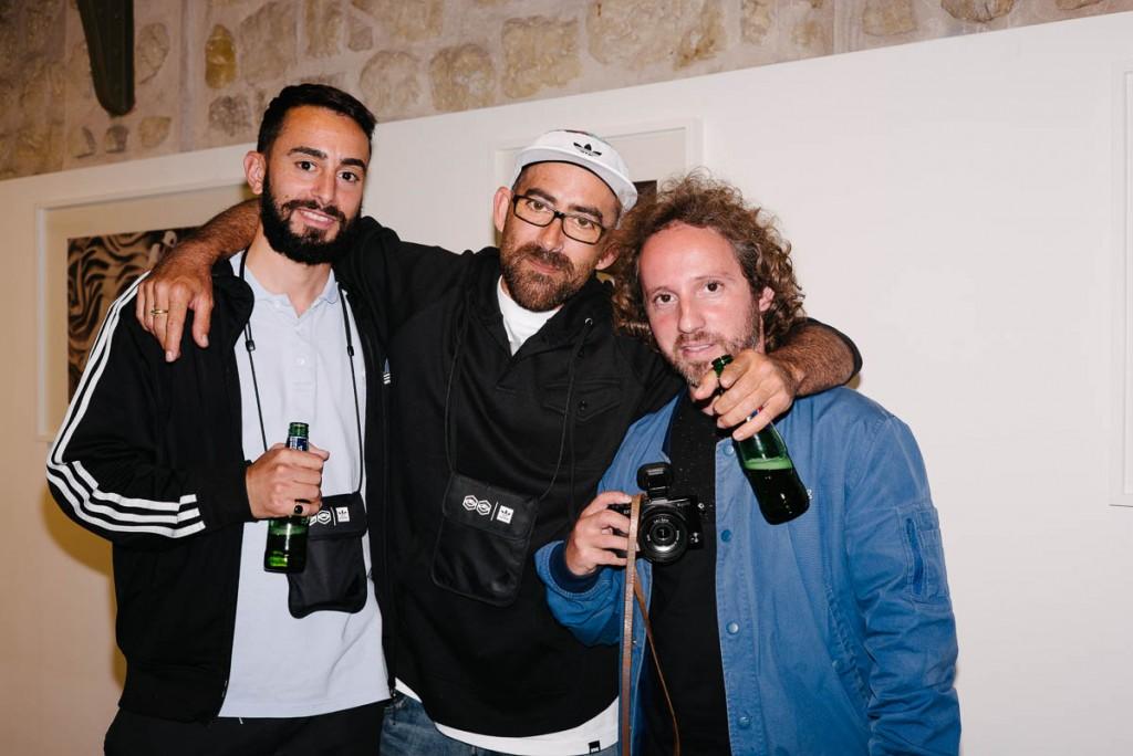 Gunes Ozdogan, Raul Navarro and Roger Ferrero