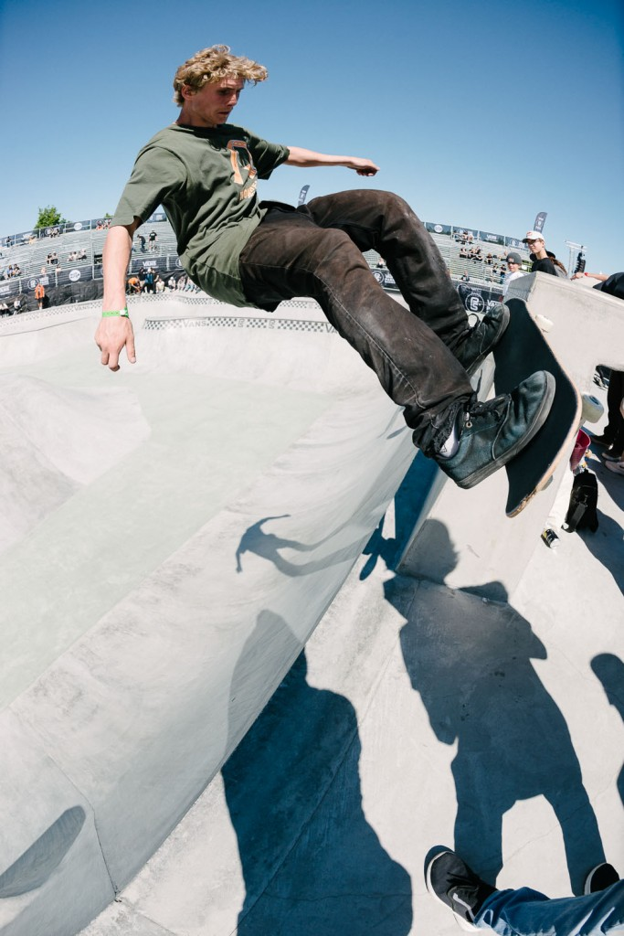 Danny Carlson, tailstall on the side of the tombstone.