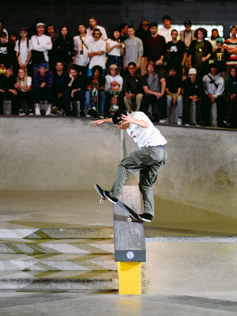 Vincent Milou, gap to frontside bluntslide