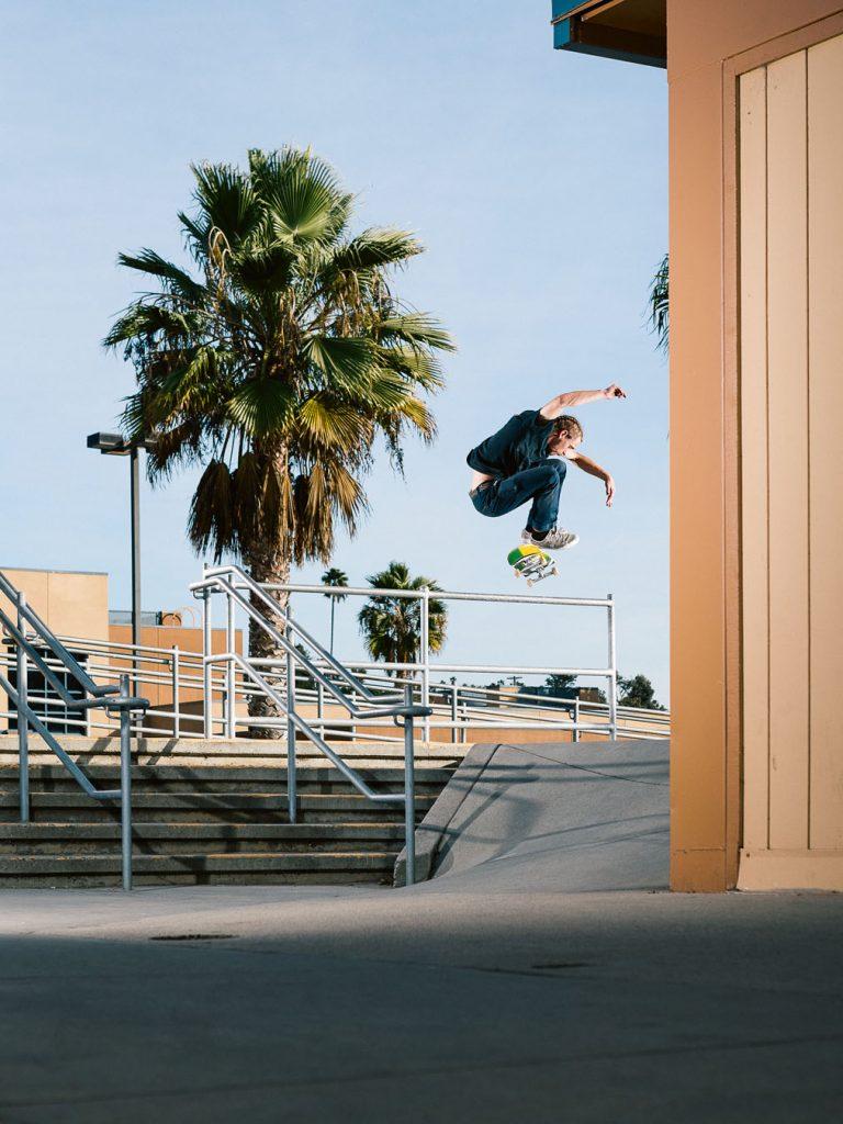 Switch kickflip San Diego Ph. Gabe Morford