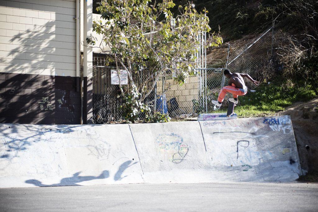 Kyle Wilson, frontside flip, LA. Ph: Alex Pires.