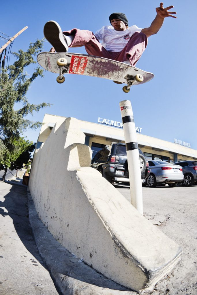 Sam Sitayeb, pole jam, LA. Ph: Alex Pires.