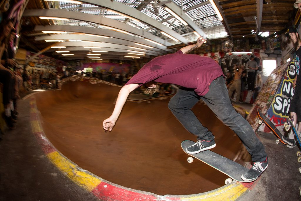 Danny Carlsen, back tail