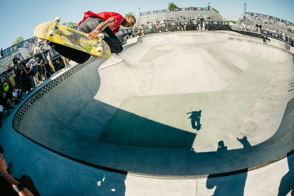 Ishod Wair, backside air.