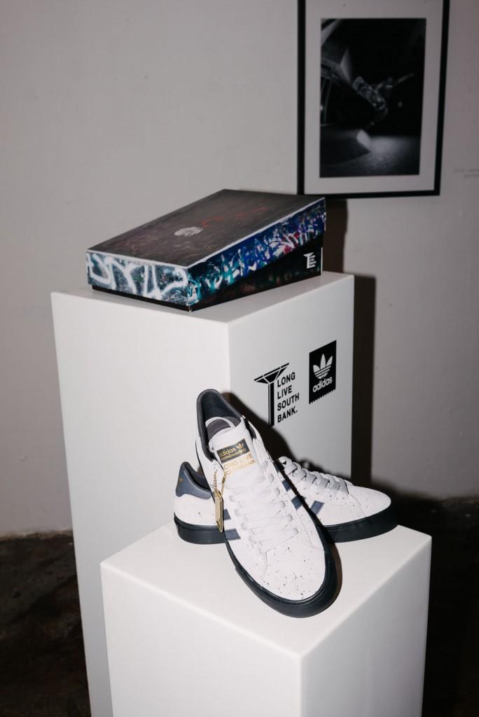 The LLSB x adidas Campus 2 Vulc