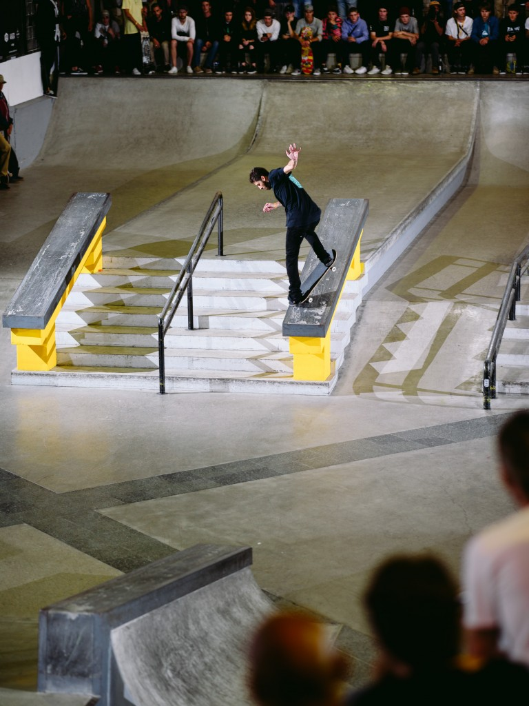 Neverton Casella, backside noseblunt slide.