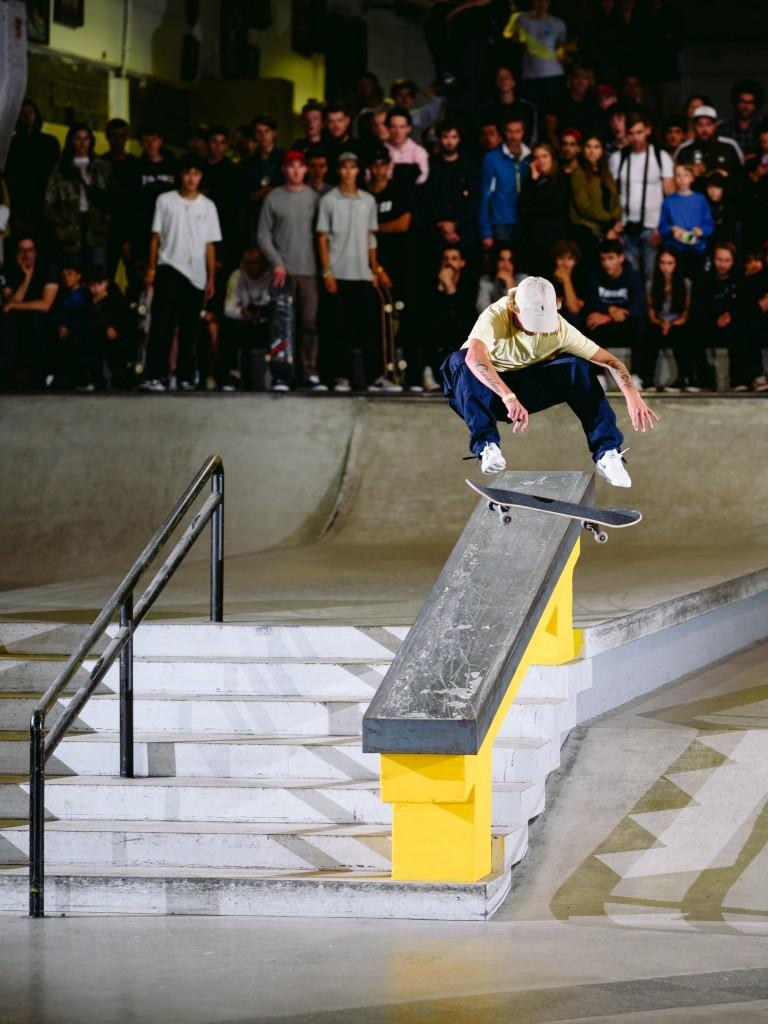 Justin Sommer, frontside flip