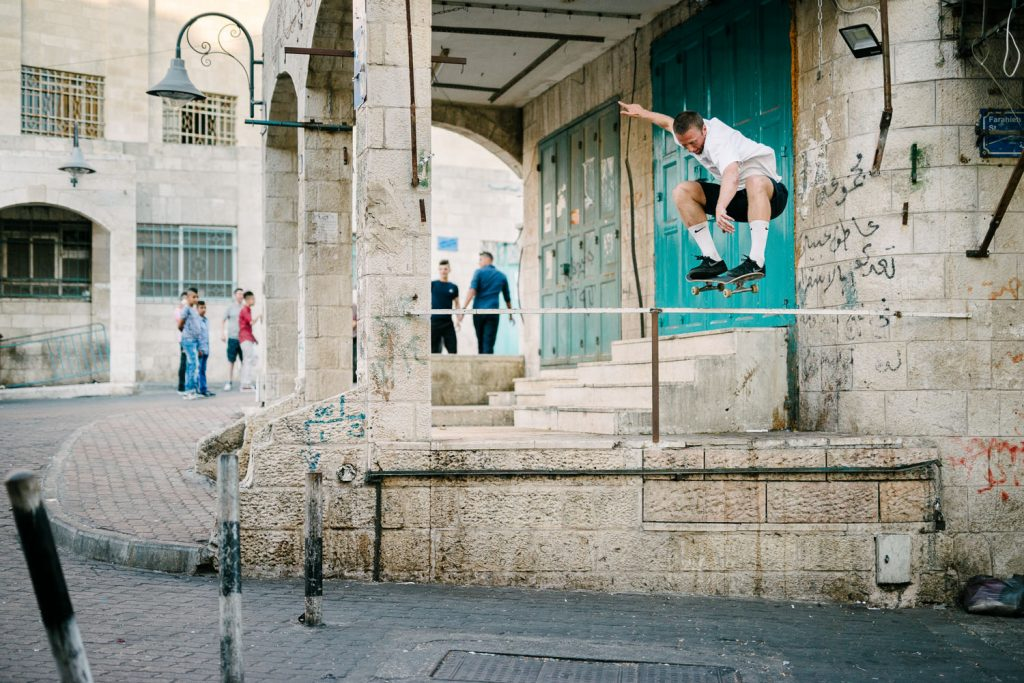 Casper Brooker, 50-50 ollie over, Bethlehem.