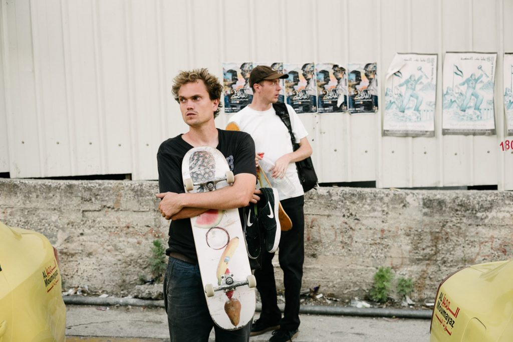 Nick Jensen and Jake Harris, Nablus.