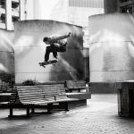 Blondey McCoy, ollie, Barbican, London, 2016. Ph. Mike O'Meally