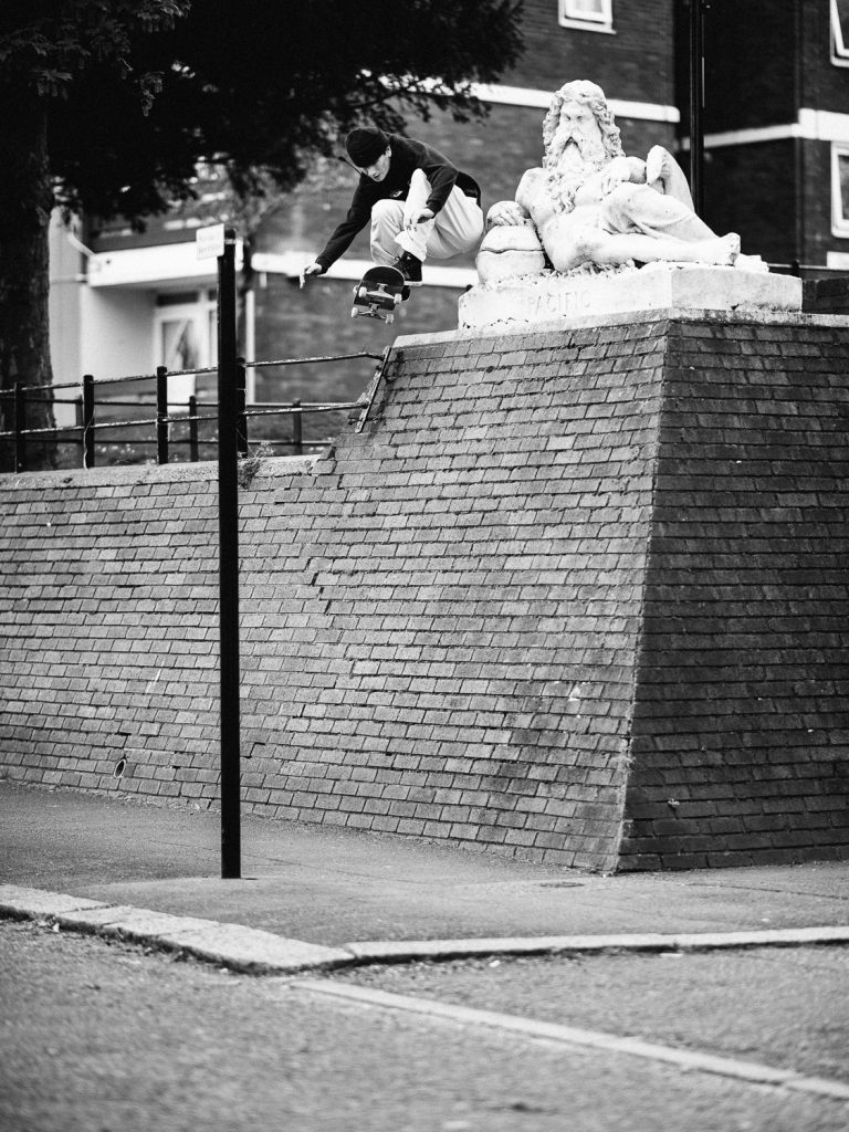 Charlie Birch, wallie, London. Ph. Sam Ashley
