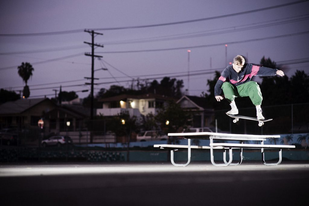 Austin Bristow, ollie, LA. Ph: Alex Pires.