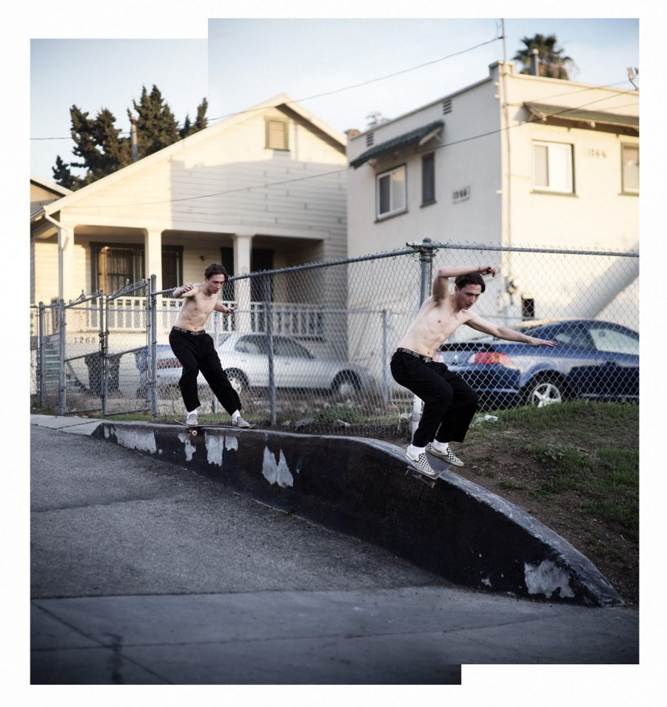 Curtis Pearl, nollie lipslide to smith, LA. Ph: Alex Pires.