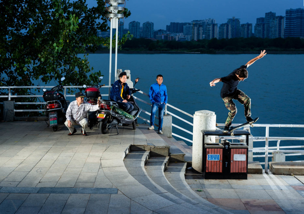 Trevor Mclun gap to 5-0, Changsha.