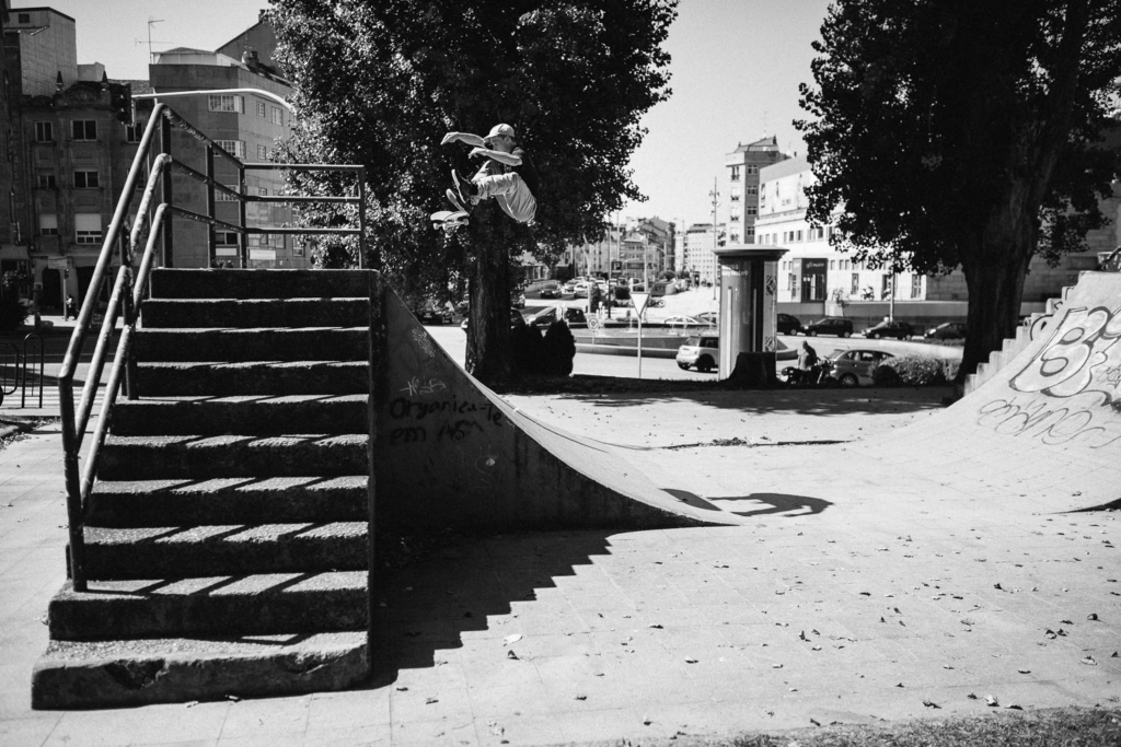 Dom Henry, switch frontside flip