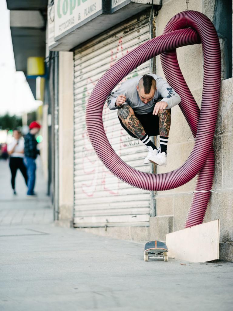 Harry Ogilvie, hippy jump