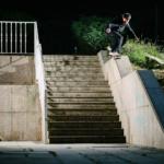 Sam Nobbs, frontside 50-50