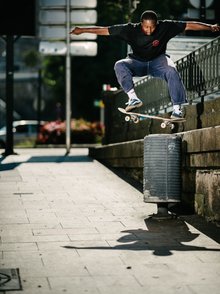 Shaun Currie, noseslide
