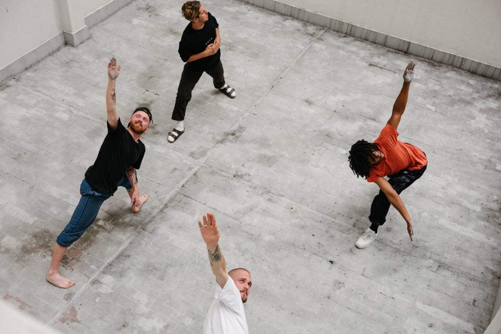 Interpretive dancing