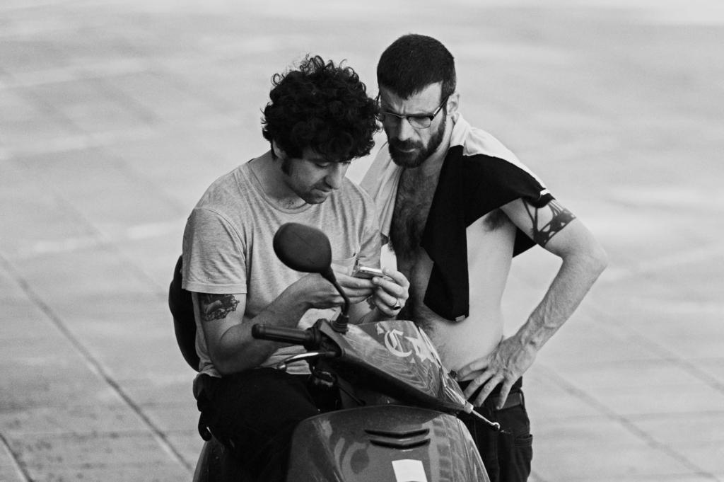 Giorgio and Kostas.