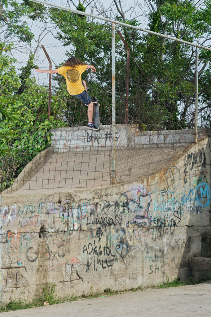 Nick Bax, front blunt.