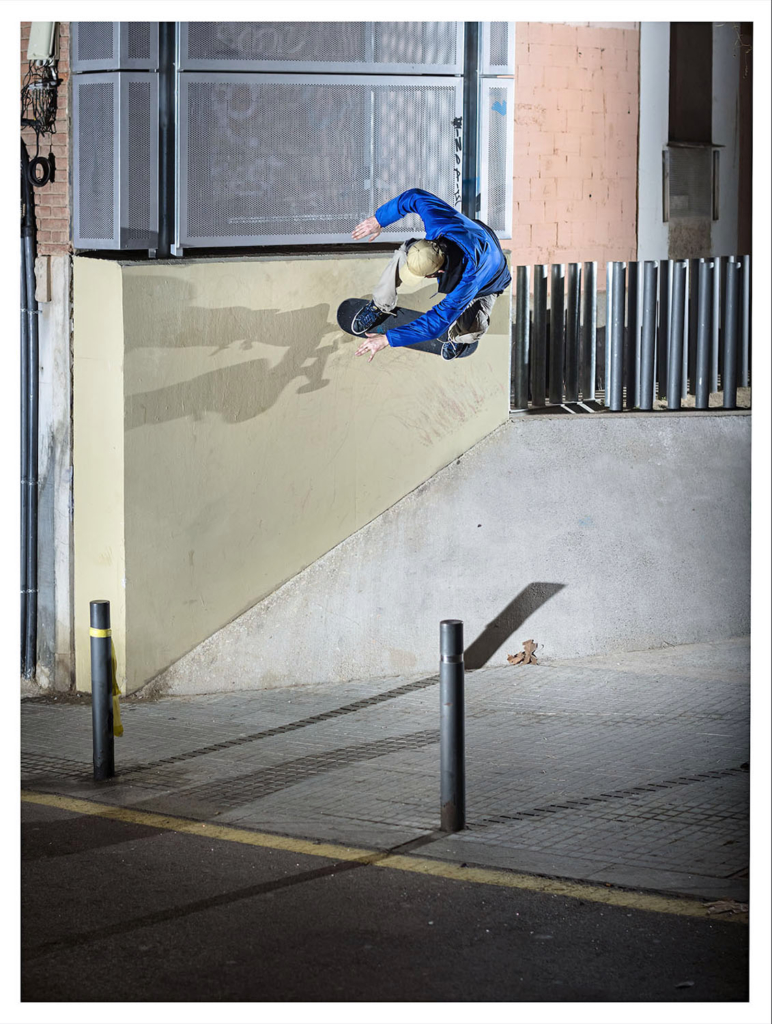 Armin Bachman switch wallride