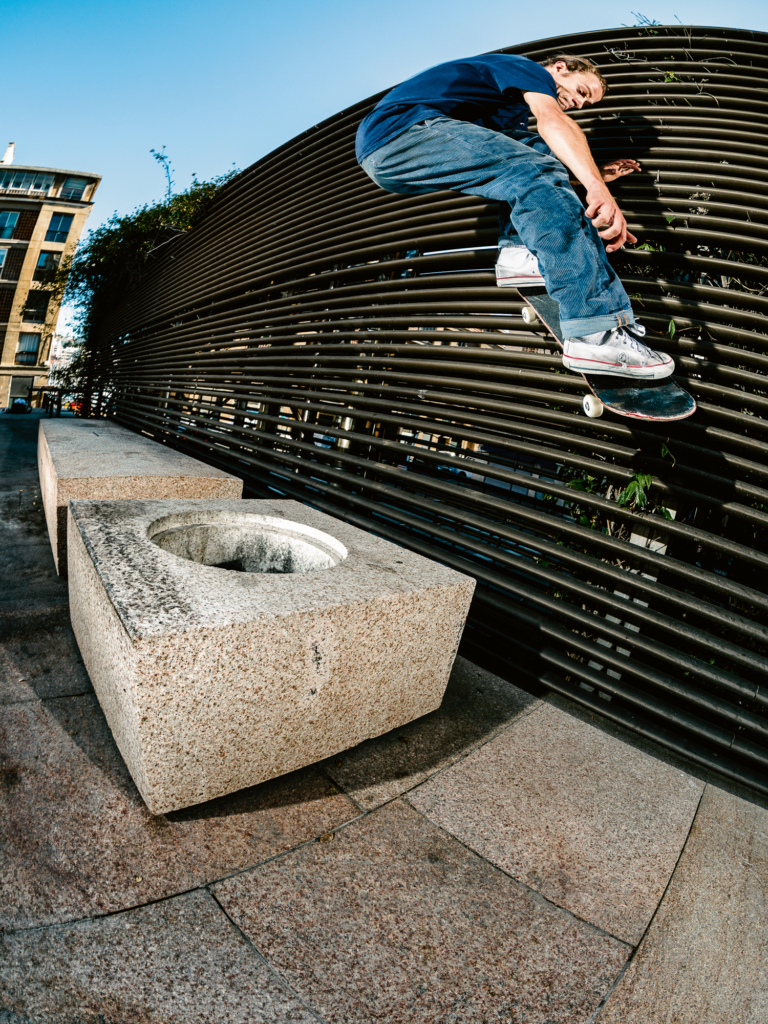 Ollie out to wallride
