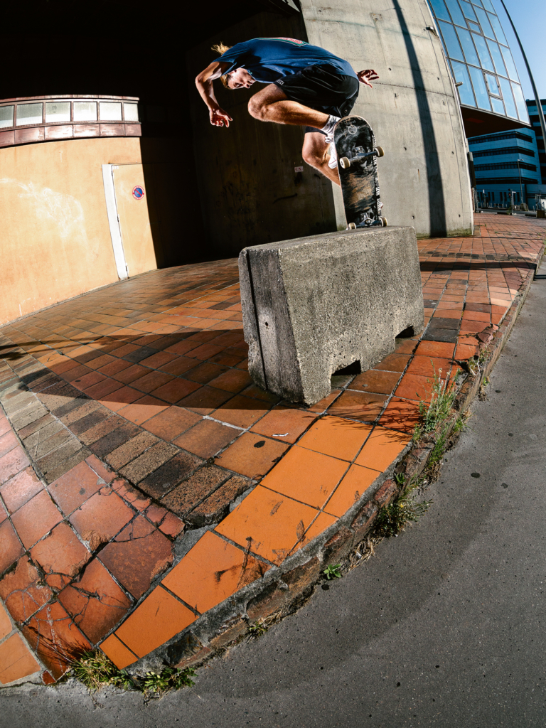 Backside nosegrind revert