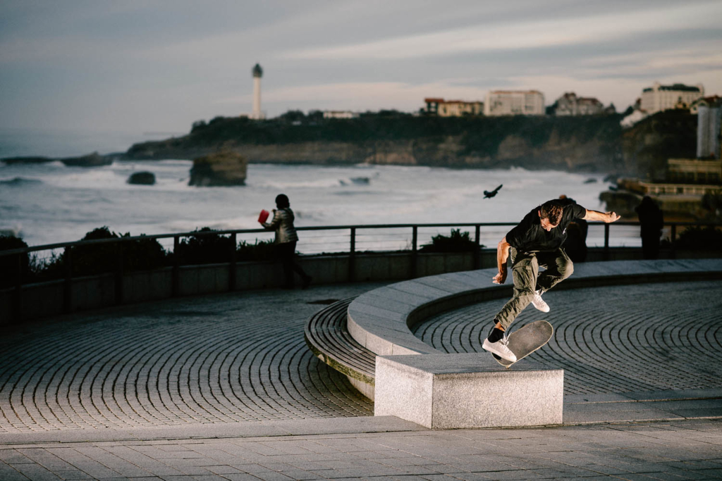 Lucas Puig, switch kickflip backside nosebluntslide. Ph. Clement Le Gall