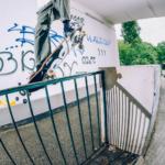 Valeri Rosomako. ride-on nose grind pop-out. Ph. Joel Peck